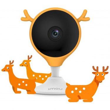 Imou kamera burkolat - FRS14 (Cue2-höz; szilikon, narancssárga)
