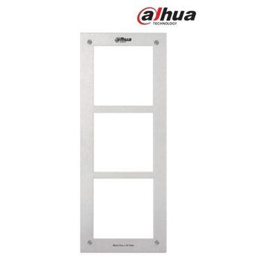 Dahua előlapi panel - VTOF003  (modulrális IP video kaputelefonhoz, 3 férőhelyes)