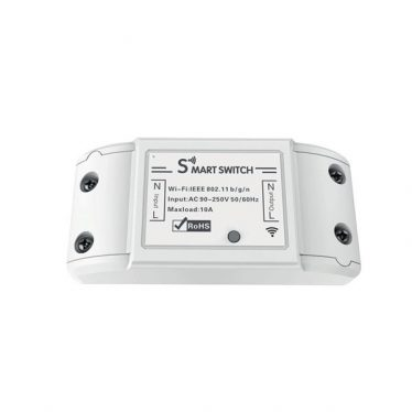 Woox Smart Home Kapcsoló - R4967 (univerzális, 10A, 2300W, Wi-Fi, távoli elérés)