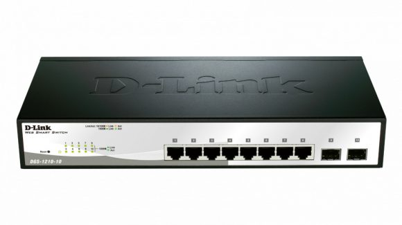 D-Link DGS-1210-10 10 Port Gigabit Smart Switch