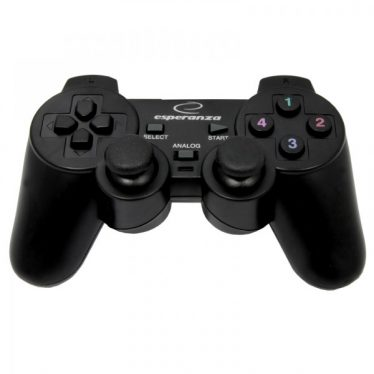 Esperanza Warrior Vibration Gamepad Black PC