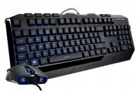 Cooler Master Devastator 3 Gaming Keyboard and Mouse Bundle  7 Color LED Black HU