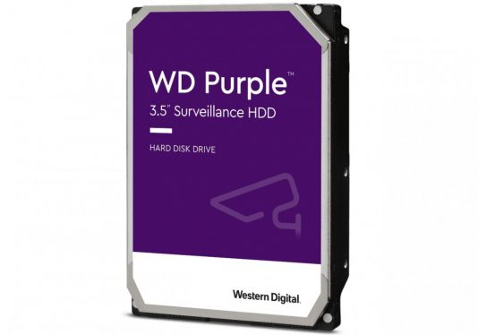 Western Digital 6TB 5400rpm SATA-600 64MB Purple WD60PURZ