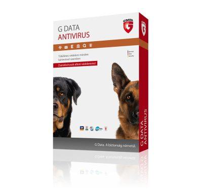 G Data Antivírus 3 felhasználó 1 év online HUN