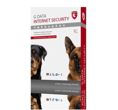 G Data Internet Security 3 felhasználó 1 év online hosszabbítás HUN