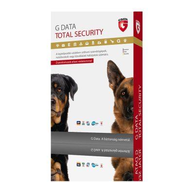 G Data Total Security 1 felhasználó 1 év online HUN