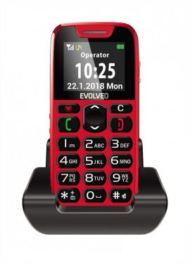 Evolveo Easyphone EP-500 Red