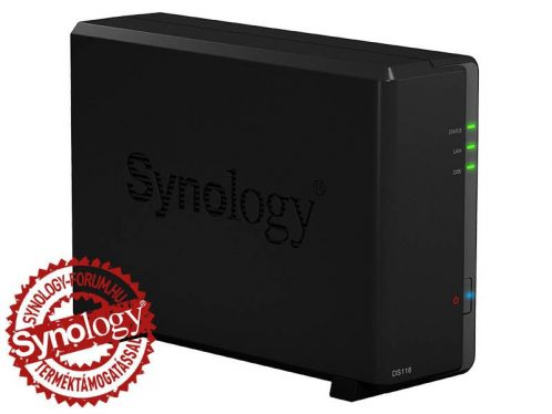 Synology NAS DS118 (1 HDD) 1GB HU