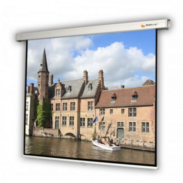 Funscreen Matt White Rollo 154x203 cm Format 16:9