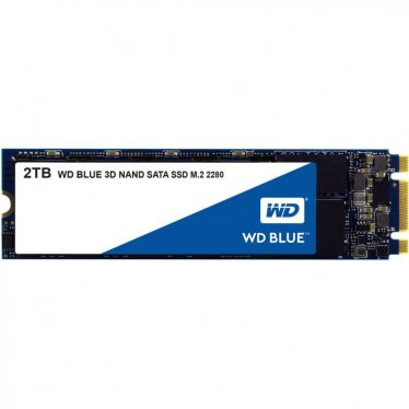 Western Digital 2TB M.2 2280 Blue 3D Series WDS200T2B0B