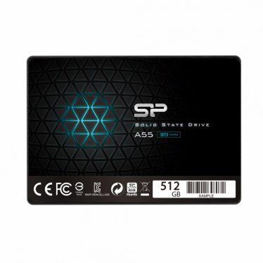 """Silicon Power 512GB 2,5"""" SATA3 A55"""
