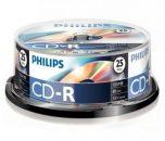 Philips CD-R 80 52x Hengeres 25db/scs
