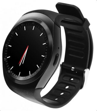 Media-Tech MT855 Round Watch GSM okosóra Black