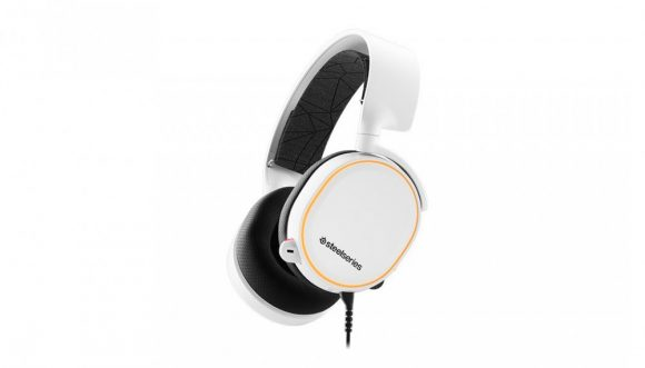 Steelseries Arctis 5 7.1 Gaming Headset (2019 Edition) White