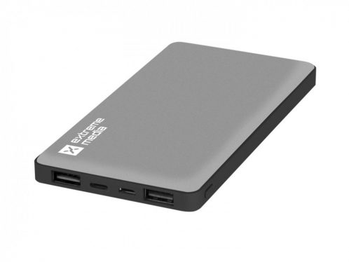 natec Extreme Media Lightning Powerbank 10000mAh Silver