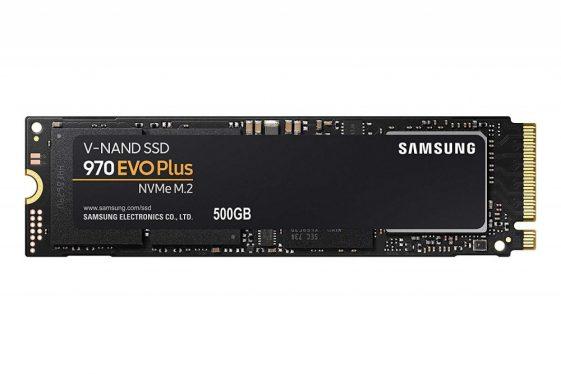 Samsung 500GB M.2 2280 NVMe 970 Evo Plus