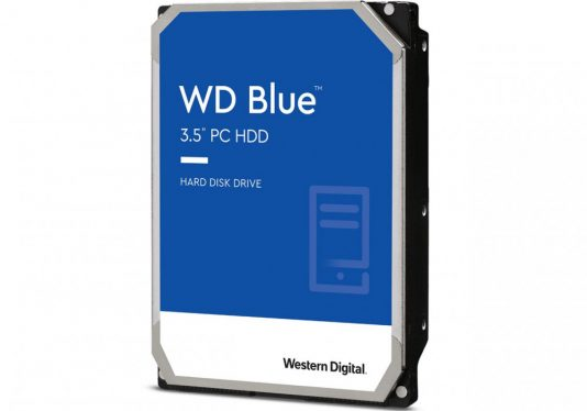 Western Digital 6TB 5400rpm SATA-600 256MB Blue WD60EZAZ
