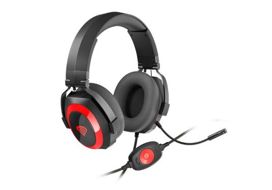 Natec Genesis Argon 500 Gamer Headset Black
