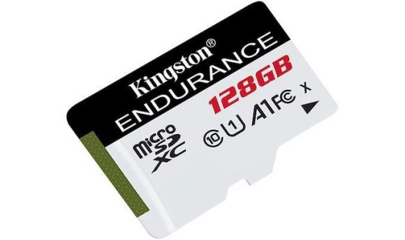 Kingston 128GB microSDXC High Endurance Class10 A1 UHS-I adapter nélkül