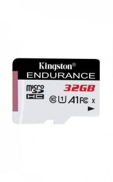 Kingston 32GB microSDHC High Endurance Class10 A1 UHS-I adapter nélkül