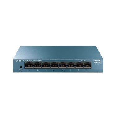 TP-Link LS108G LiteWave 8-Port Gigabit Desktop Switch