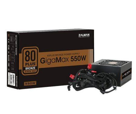 Zalman 550W 80+ Bronze GigaMax
