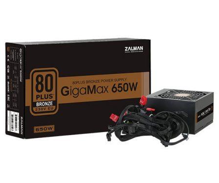 Zalman 650W 80+ Bronze GigaMax Series