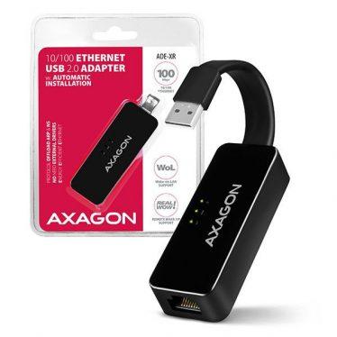 AXAGON ADE-XR 10/100 Ethernet USB2.0 Adapter