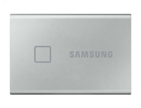 Samsung 500GB USB3.2/USB Type-C T7 Touch Silver