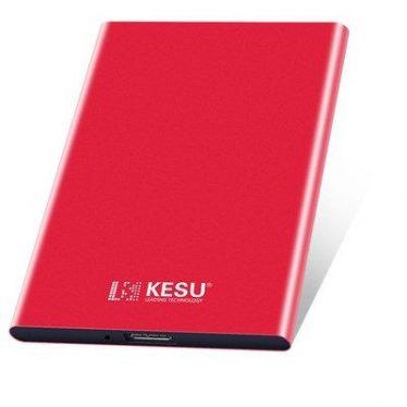 """Teyadi 500GB 2,5"""" USB3.0 KESU-K201 Metal Red"""