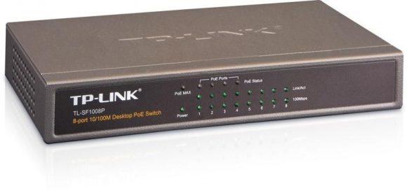 TP-Link TL-SF1008P POE Switch