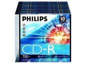 Philips CD-R 80 52x Slim 1 db-os (1-es címke)