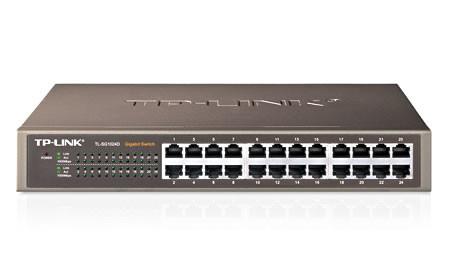 TP-Link TL-SG1024D 24port Gigabit Switch metal