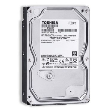 Toshiba 1TB 7200rpm SATA-600 32MB DT01ACA100