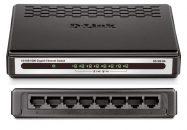 D-Link GO-SW-8G 8 Port Gigabit Desktop Switch