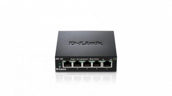 D-Link DES-105 5 Port 10/100Mbit Fast Eternet Switch