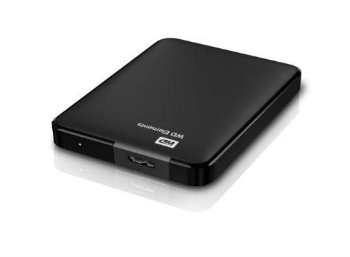 """Western Digital 1TB 2,5"""" Elements Black USB 3.0 WDBUZG0010BBK-EESN"""