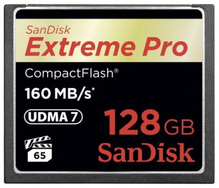 Sandisk 128GB Extreme PRO CompactFlash