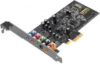 Creative Sound Blaster Audigy Fx 5.1 PCIe Sound Card with SBX Pro Studio