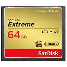 Sandisk 64GB Extreme CompactFlash