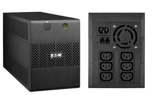 EATON 5E 1100i USB vonali-interaktív 1:1 UPS 1100VA