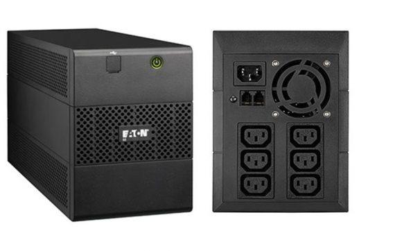 EATON 5E 1500i USB vonali-interaktív 1:1 UPS 1500VA