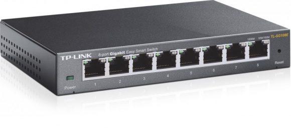 TP-Link TL-SG108E 8-Port Gigabit Easy Smart Switch