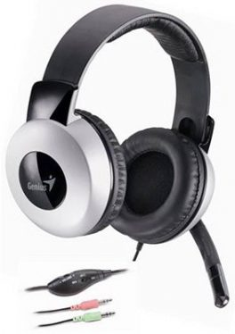 Genius HS-05A Headset Black