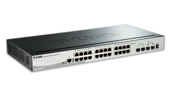 D-Link DGS-1510-28P 28 Port Gigabit SmartPro Poe Switch