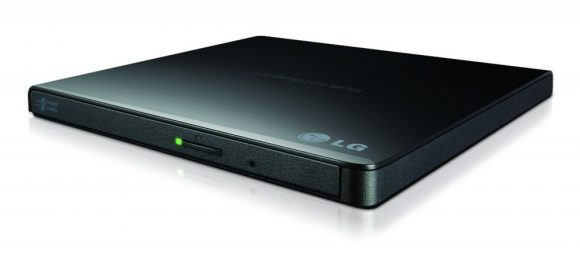 LG GP57EB40 Slim DVD-Writer Black BOX