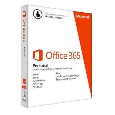 Microsoft Office 365 Personal 32/64bit 1év Subscription