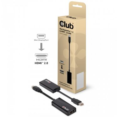 Club3D MiniDisplayport - HDMI 2.0 adapter